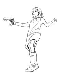 射撃(女性02)