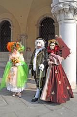 Coppia veneziana 6 e colore- Carnevale Venezia 2012