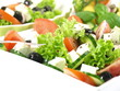Close-up of greek salad