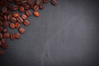 Kreidetafel, Kaffeebohnen