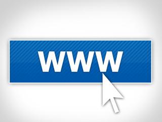 bouton - www - site internet