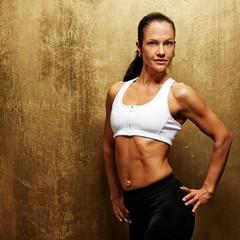 Beautiful athletic woman.