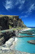 Route côtière de La Réunion.