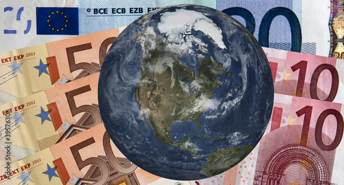 Euro zone in the world