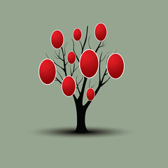 Easter tree for your design