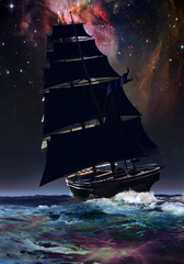 Velero y universo
