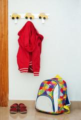 Children's set of red