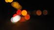 Strassenverkehr am Abend