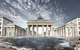 Fototapety Brandenburger Tor, Ende der Welt
