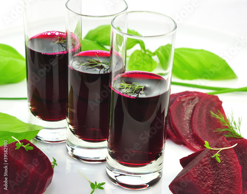 Rote Beete , Saft