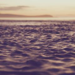 Blur water vintage tone