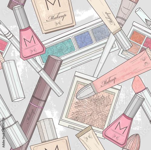 wzor-bez-szwu-makijazu-i-kosmetykow