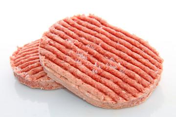 Steaks hachés crus surgelés