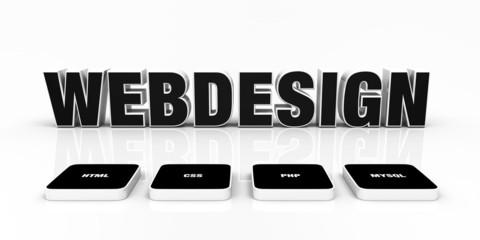 Webdesign Portfolio Konzept Schwarz 05