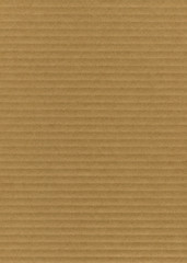 Close up of striped cardboard texture