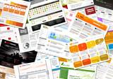 Webdesign, Webseite, Homepage, Vorlage, Internet, Stapel, Design