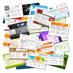 Webdesign, Vorlage, Homepage, Design, Templates, Präsentation