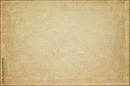 Old vintage grunge paper texture or background