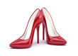 canvas print picture - High heel shoes