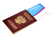 passport and the air ticket