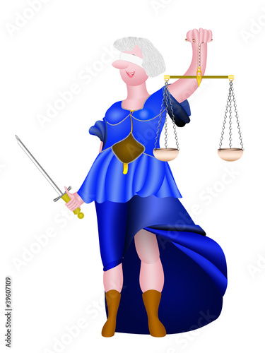 Justitia, Illustration