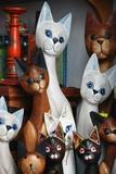 Gatos, decoración poster
