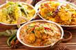 Leinwanddruck Bild - Indische Küche