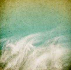 Wispy Vintage Clouds