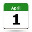 Kalender - April 1