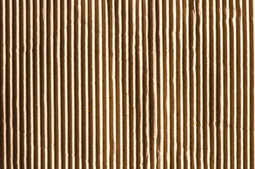 Background and texture of paper cardboard box wall