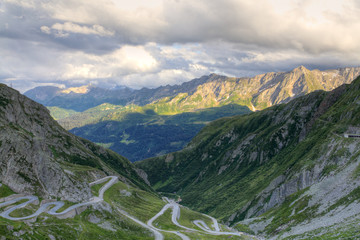 Gotthard mountain pass, Switzerland