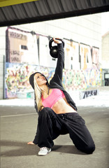 Urban fitness workout