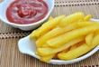 Patate fritte e ketchup