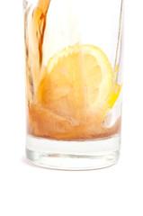 Cola with lemon