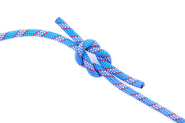 blue rope knot