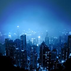 Skyline of City