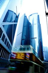 moving bus in hong kong