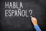 Fototapety Spanish Learning language