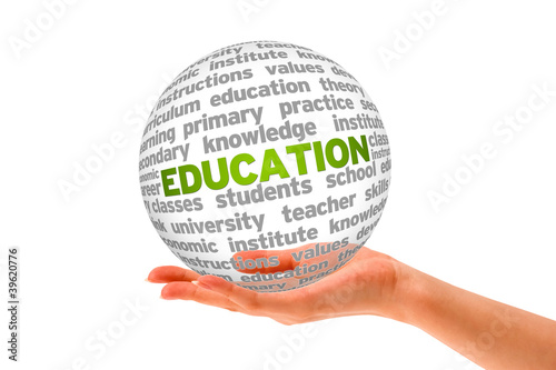 Education 3d Sphere