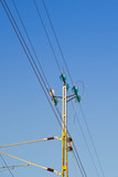 overhead lines for railway