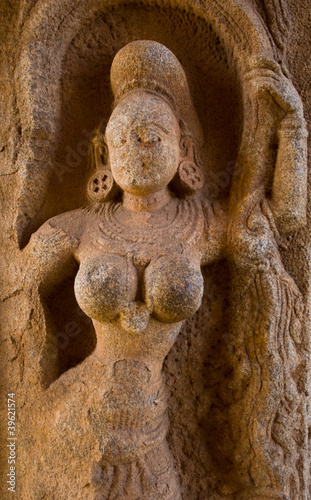 relief in hampi