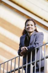 Portrait of woman executive