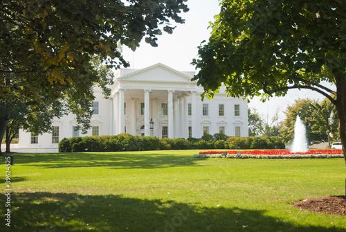 Foto op Aluminium Oude gebouw The White House
