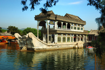 Summer Palace's  the Marble Boat