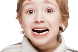 First baby milk or temporary tooth fall out poster