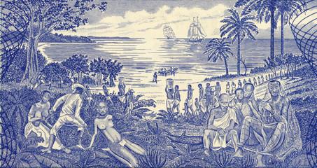 Slave Trade Scene