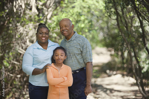 African family outdoors