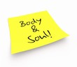 Notizzettel - Body & Soul