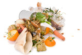 Assortment of kitchen waste