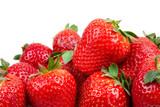 Fototapety Fresas frescas del tiempo